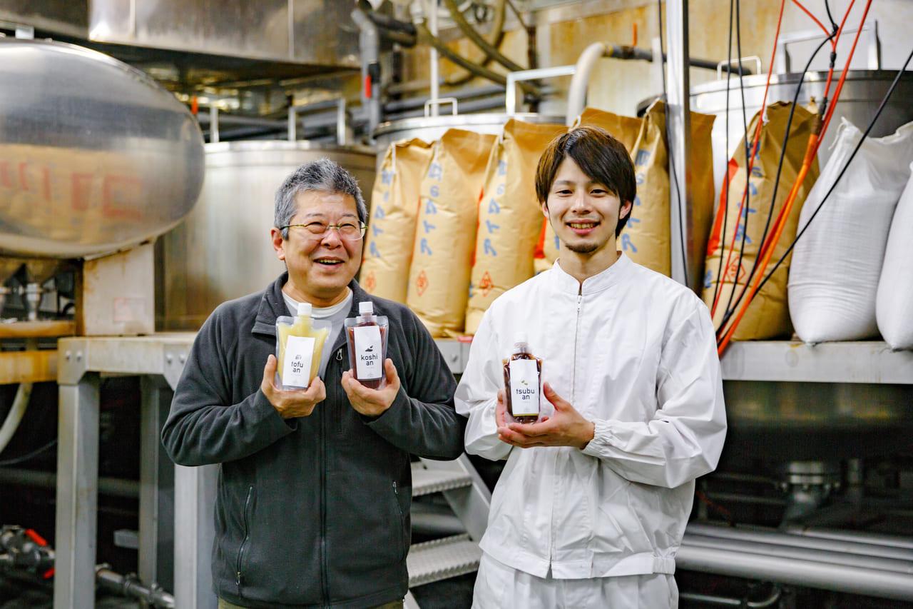注目は真っ白な「豆腐あん」! しぼって使える手軽なあんこ「あん・Marche'」 シリーズ誕生―小西製あん所(長野県飯田市)
